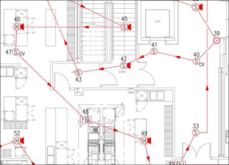 Professional Fire Alarm Layouts Original Cad Solutions